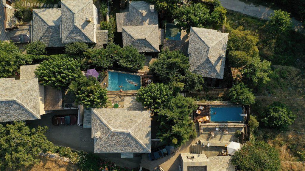 Pelion Homes Bird Eye view