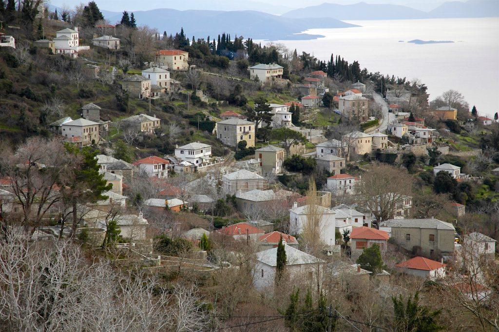 Agios Georgios, Pelion in Winter