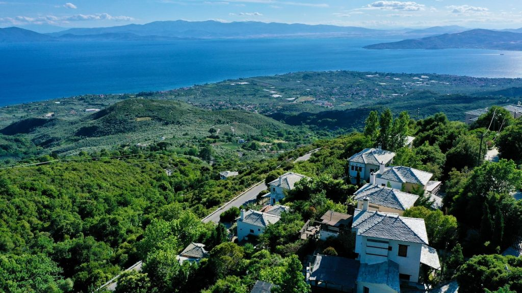 Pelion Villas, the stunning view overlooking the Pagasitikos Gulf