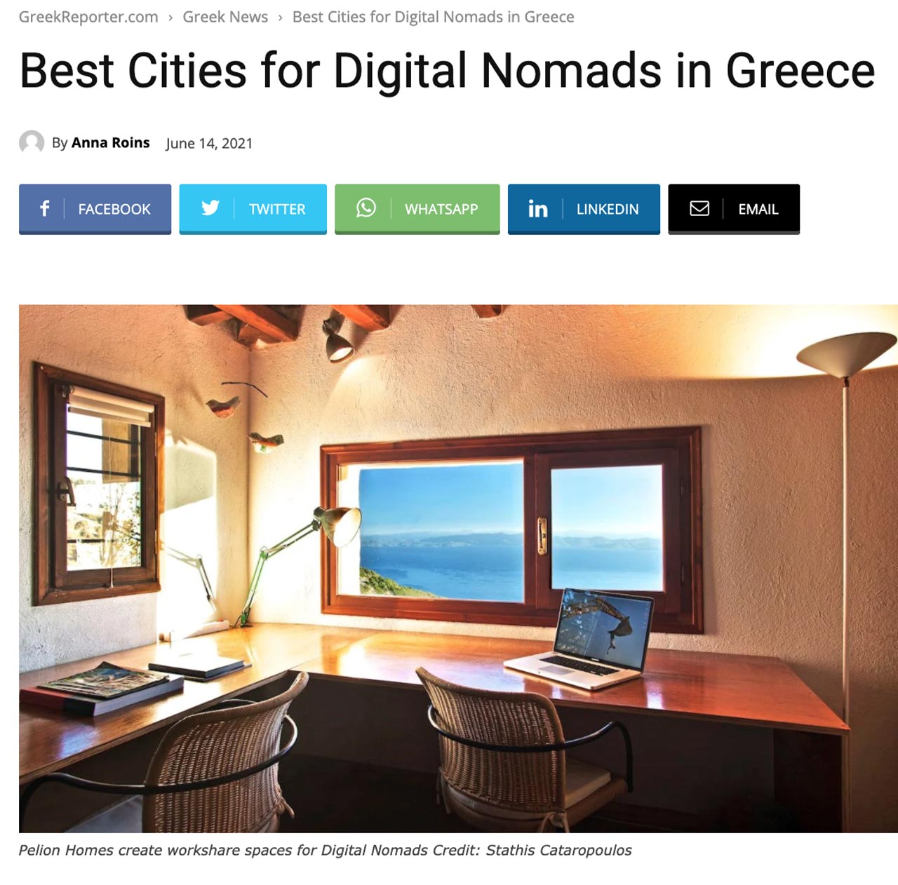 Best Cities for Digital Nomads in Greece
