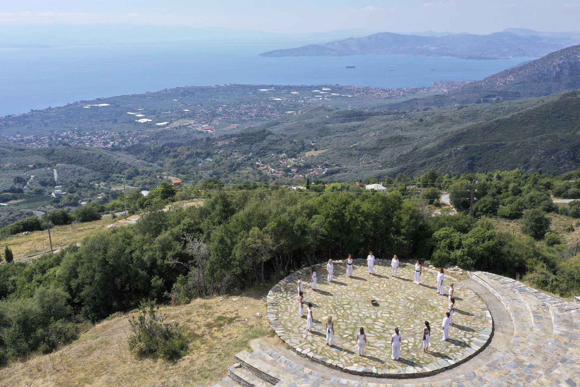 Pelion Homes Yoga Retreat in Pelion Greece