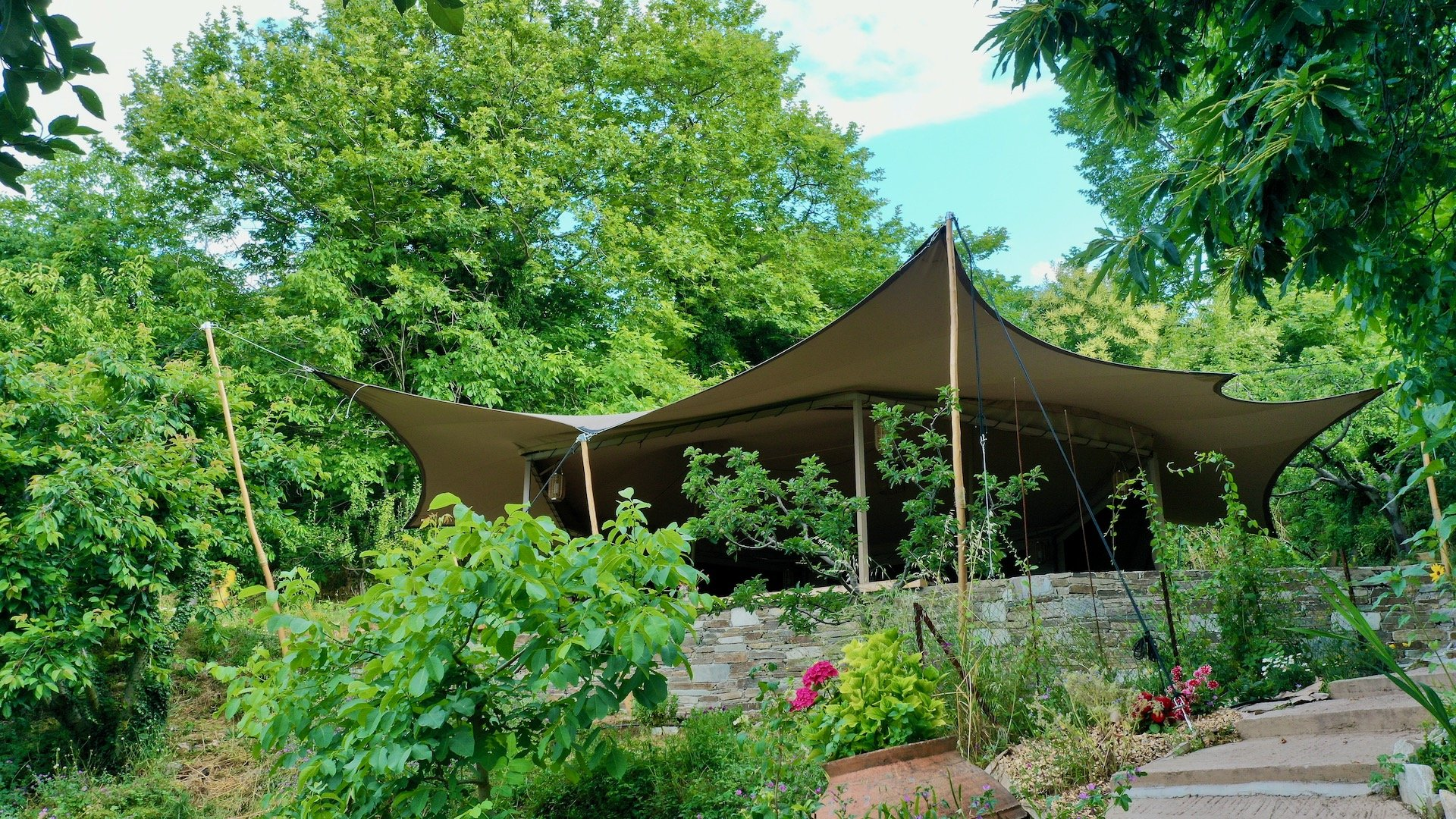 Pelion Homes Retreat Centre blends into nature