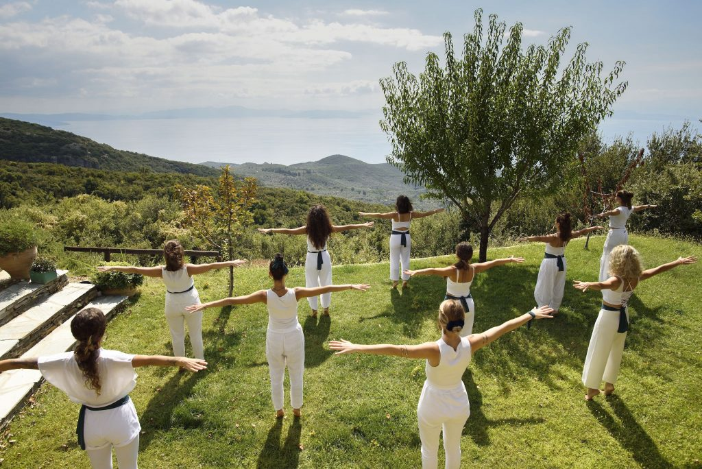 Pelion Homes Yoga Retreat