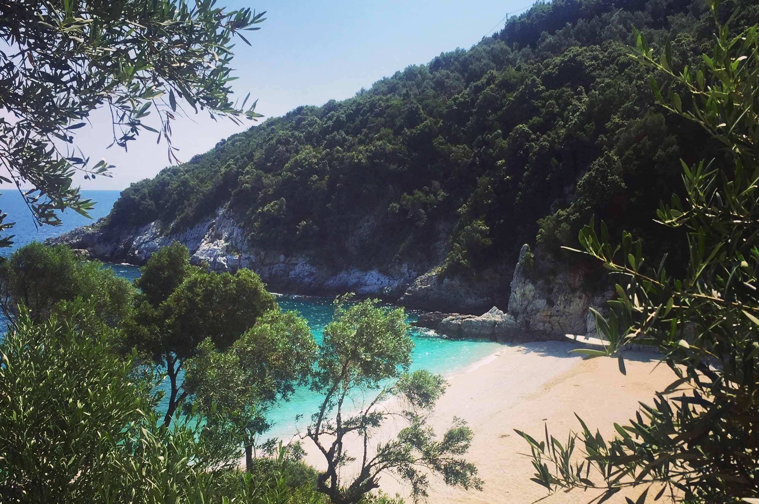 Pelion Limnionas beach