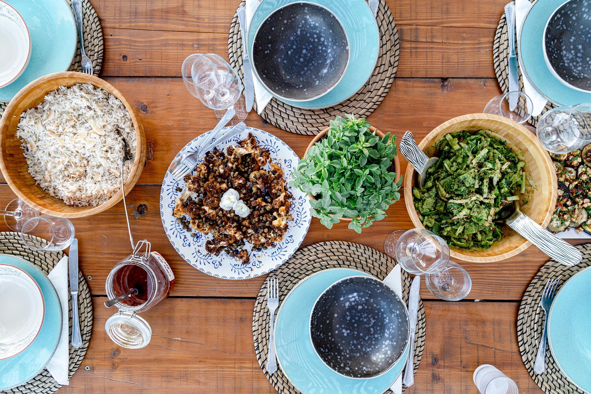 Culinary delights at Pelion Retreat Centre