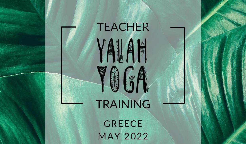 Yalah Yoga 200 hour teacher training Pelion Greece