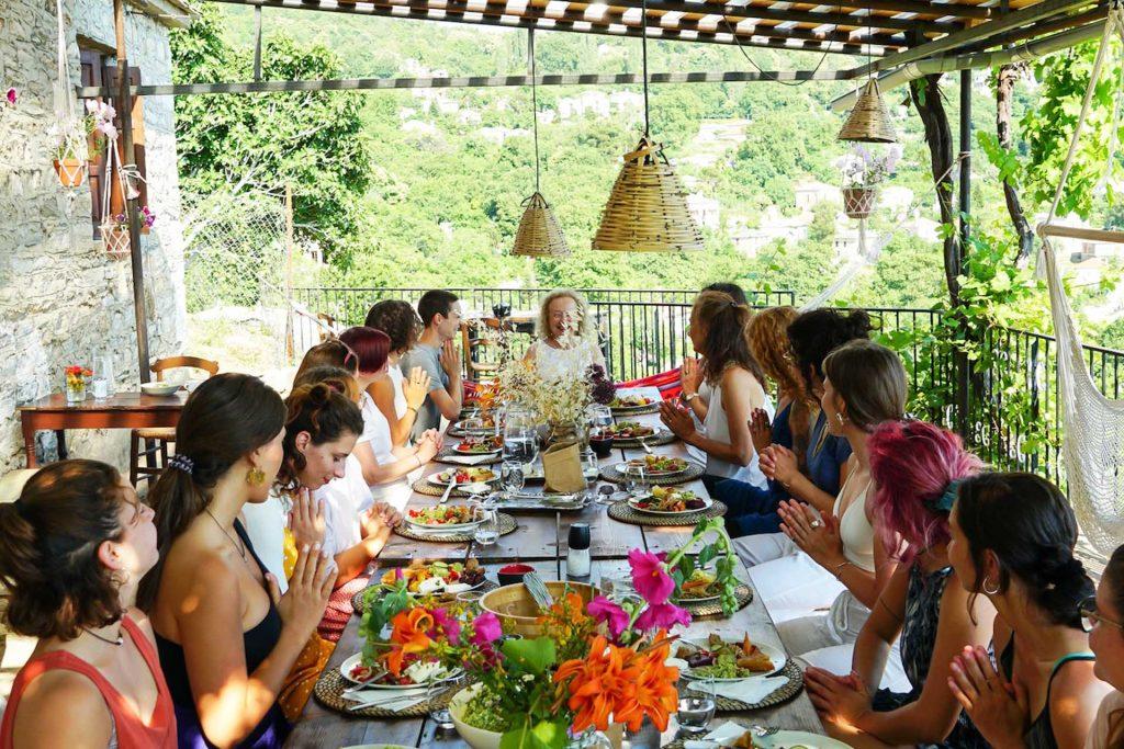 Yoga Retreat in Pelion Greece