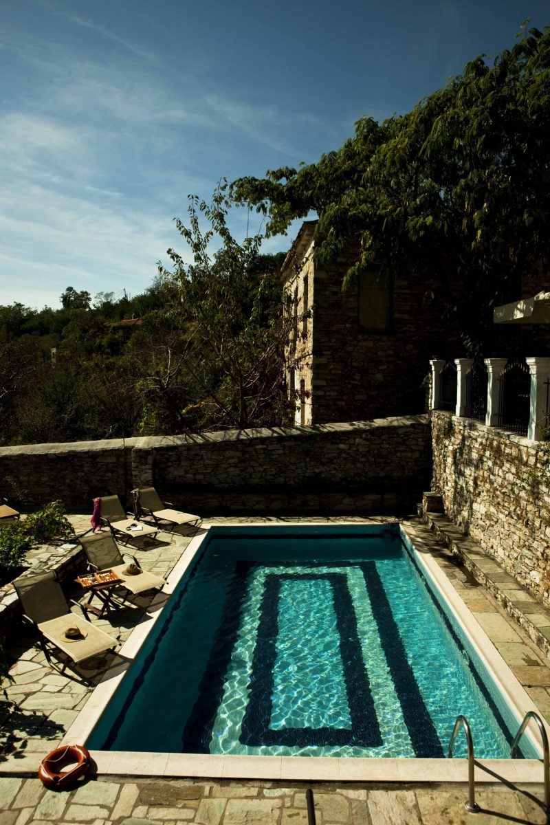 Mansion with private pool in Pelion