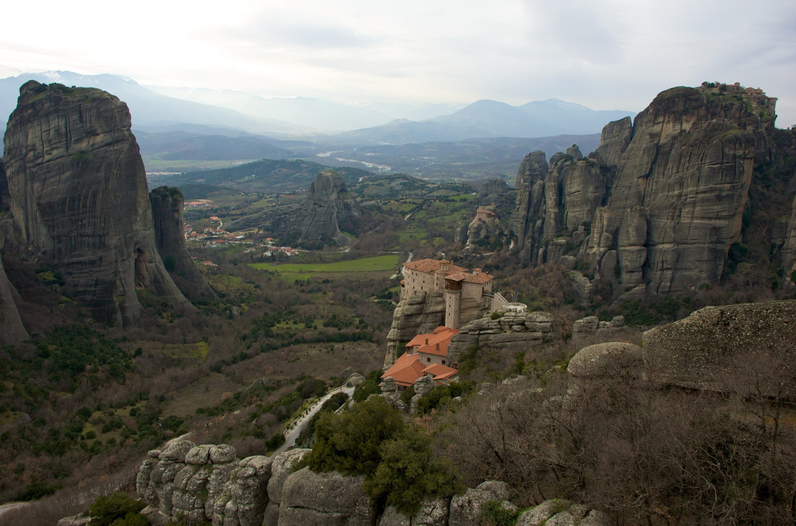 Meteora is among the most beautiful places to visit in mainland Greece